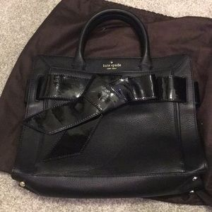 Kate Spade Black tote purse